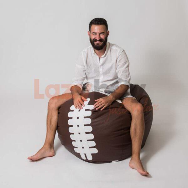 fotoliu minge beanbag lazyboy rugby 5