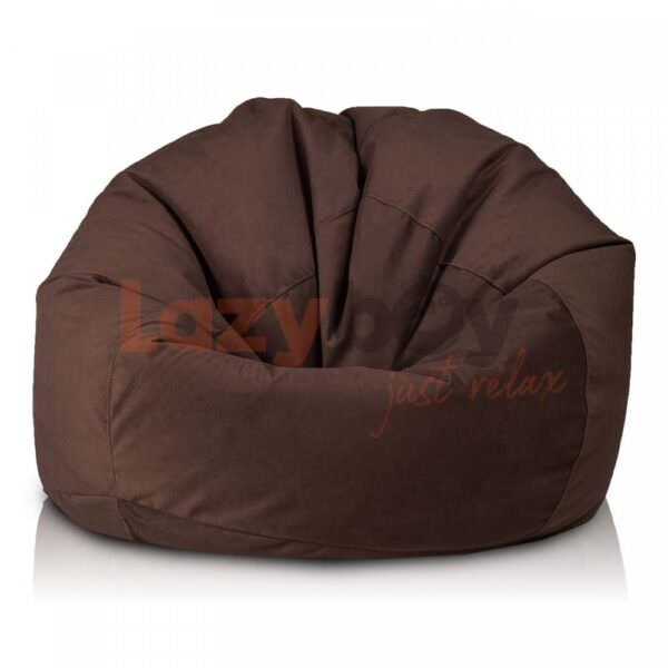 fotoliu puf cloud xl brown lazyboy textil