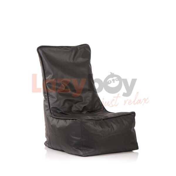 fotoliu puf lazyboy elegant black beanbag 3