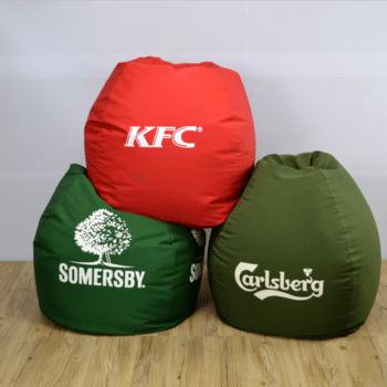 fotolii puf personalizate logo brand beanbags promotionale 2