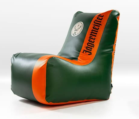 fotolii puf personalizate logo brand beanbags promotionale jagermeister11