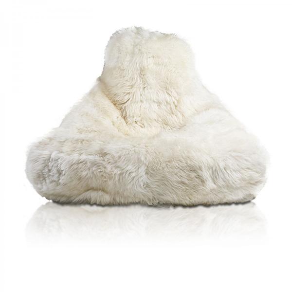 fotoliu puf din blana cozy premium 1