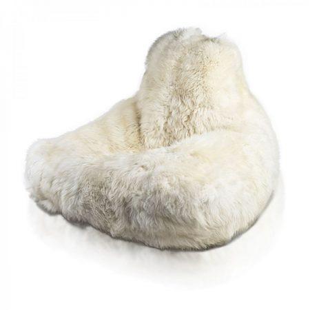 fotoliu puf din blana cozy premium 2