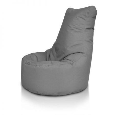 fotoliu puf lazyboy seat l dark grey