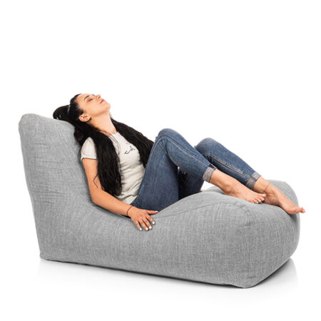 fotoliu puf lounger scandinavian grey impermeabi1l