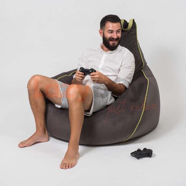 naoki fotoliu puf futurist lazyboy playstation 2