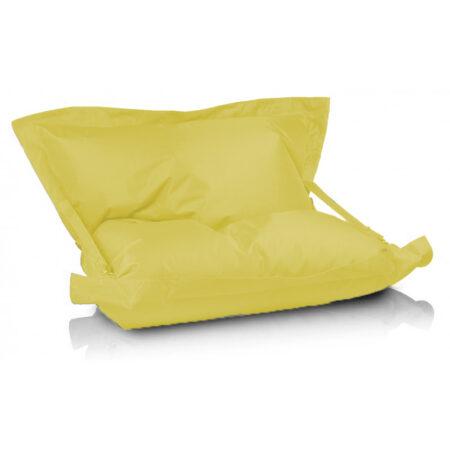 pillow l straps bretele galben