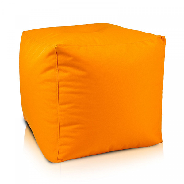 taburet lazyboy cube orange 1