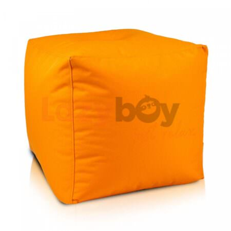 taburet lazyboy cube orange