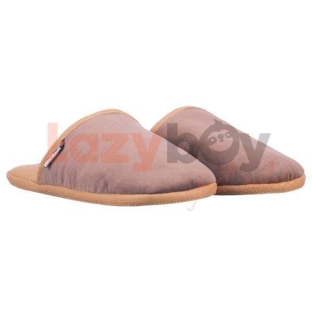 papuci de casa lazyboy slippers cappuccino fabricati in Romania2