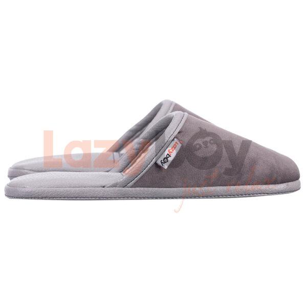 papuci de casa lazyboy slippers gri 2 fabricati in Romania