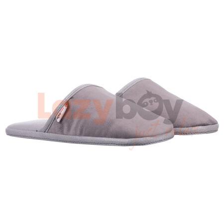 papuci de casa lazyboy slippers gri fabricati in Romania