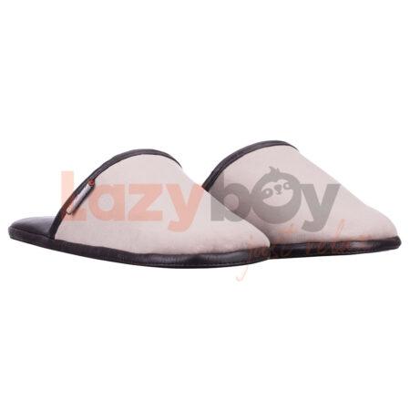 papuci de casa lazyboy slippers scandinavian black fabricati in Romania2