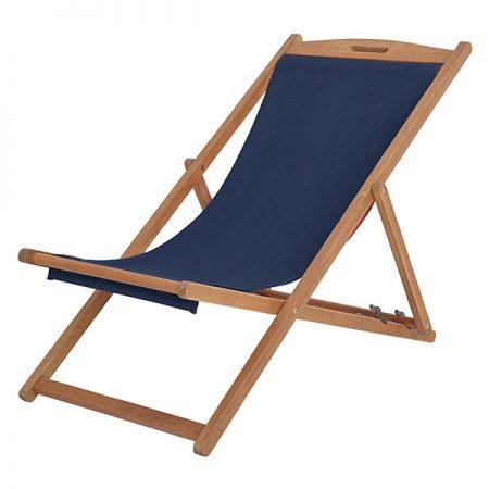 scaun de plaja din lemn cu maner lazyboy romania bleumarin navy