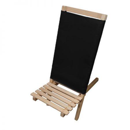 scaun festival pliabil usor lazyboy textil negru